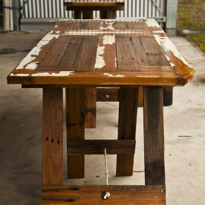 Tables made to order