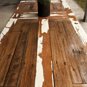 Tables from old doors